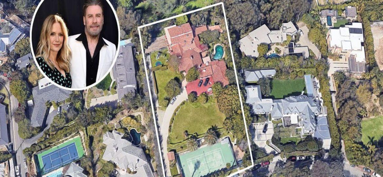 Джон Траволта продал недвижимость в Лос-Анджелесе за 1,1 млрд рублей