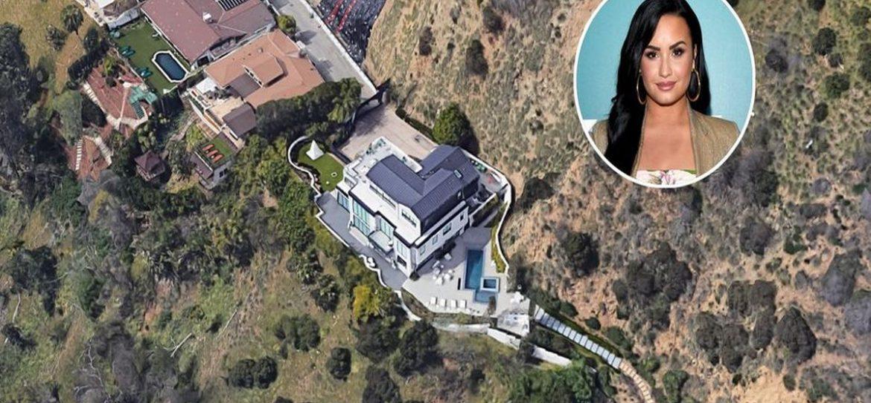 Деми Ловато продает дом в Лос-Анджелесе за 565 млн рублей