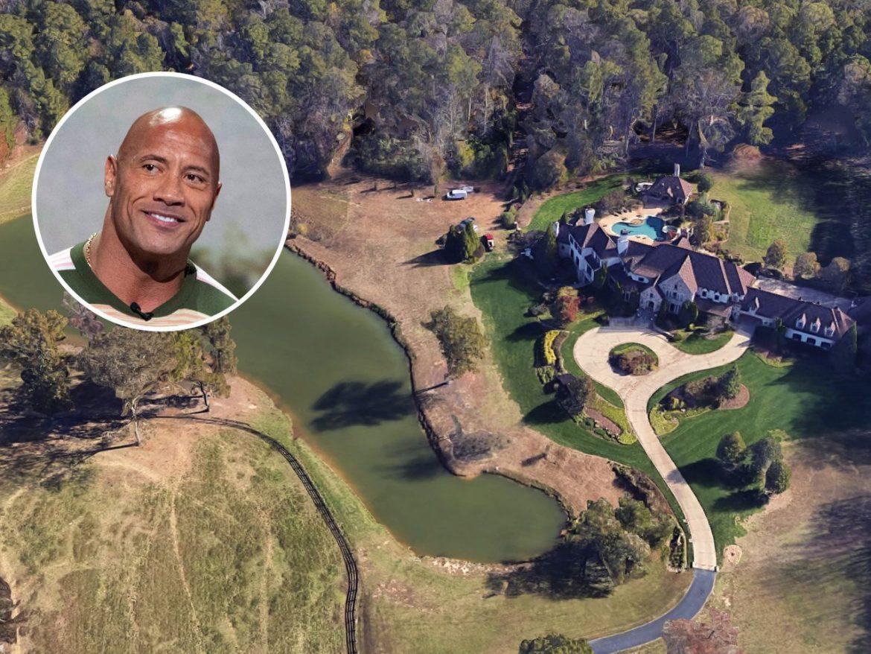 Дуэйн Джонсон продал конное поместье Атланты за 7,5 миллиона долларов