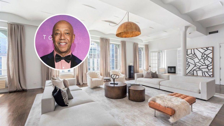 Расселл Симмонс продает Манхэттенский пентхаус за 5,5 млн долларов