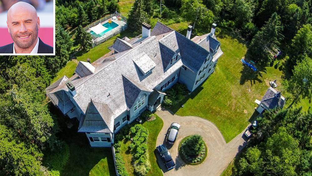 Джон Траволта продает дом в штате Мэн за 5 миллионов долларов
