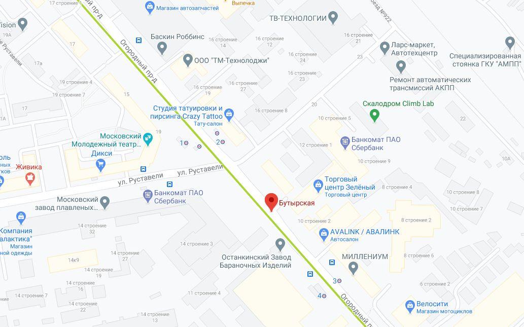 В Бутырском районе построят бизнес-центр площадью более 120 тыс. кв. м.