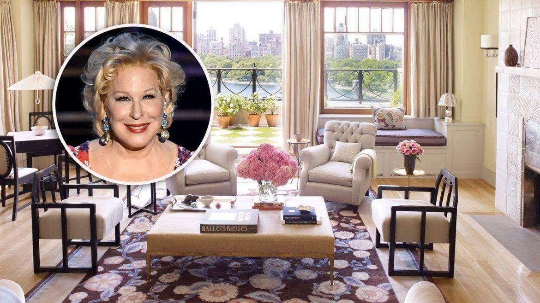 Бетт Мидлер продает Манхэттенский пентхаус за 50 млн долларов