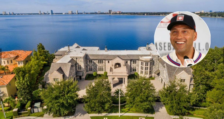 Дерек Джетер продает особняк в Тампе за 22,5 млн долларов