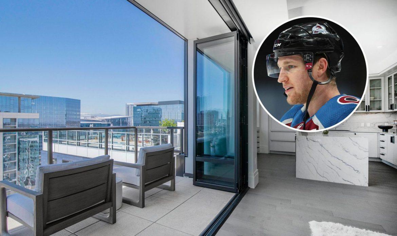 Хоккеист Натан Маккиннон продает пентхаус в Денвере за 3,5 млн долларов