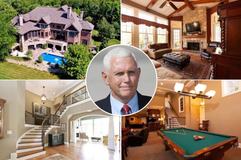 Майк Пенс покупает особняк за 1,93 млн долларов в родном штате Индиана