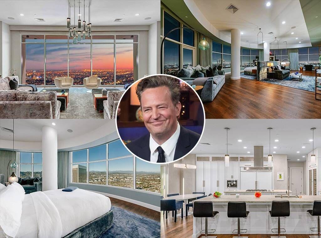 Мэтью Перри продает пентхаус в Лос-Анджелесе за 21,6 миллиона долларов