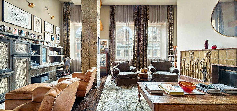 Нью-Йоркская квартира Натана Лейна продается за 4,65 миллиона долларов