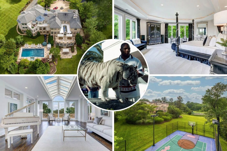 Бывший дом Майка Тайсона в Мэриленде продается за 4,6 млн долларов