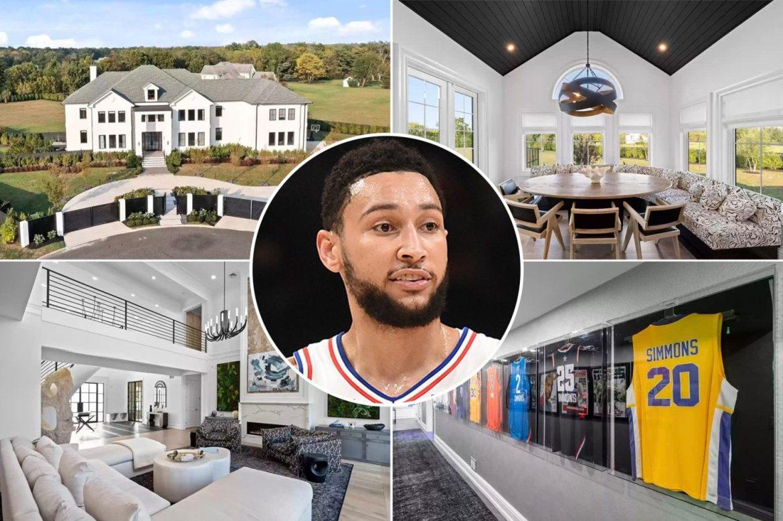 Бен Симмонс продает особняк в Нью-Джерси за 5 млн долларов
