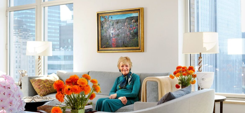 Мэри Уэллс Лоуренс продала Манхэттенский дуплекс за 27,95 млн долларов