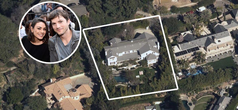 Эштон Катчер и Мила Кунис продали дом за 14 миллионов долларов