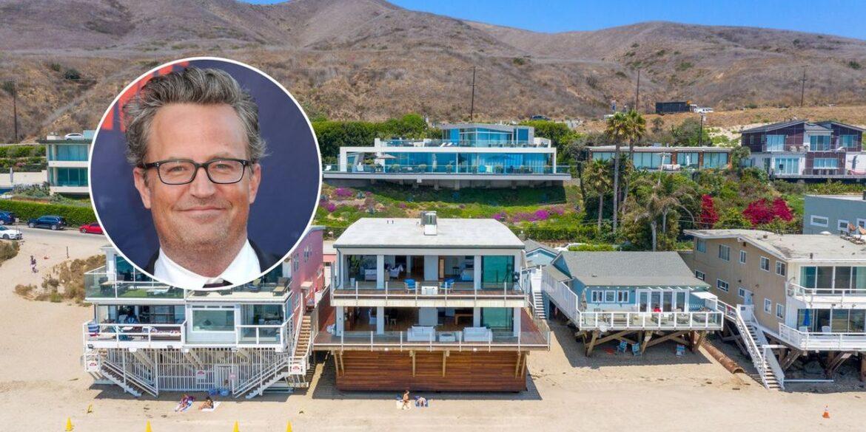 Мэтью Перри хочет продать свой дом в Малибу за 15 миллионов долларов