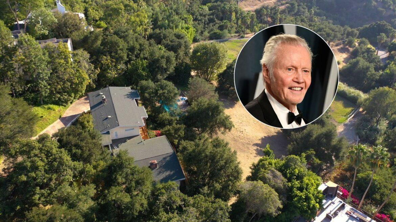 Джон Войт продает дом в Лос-Анджелесе за 13,99 миллиона долларов