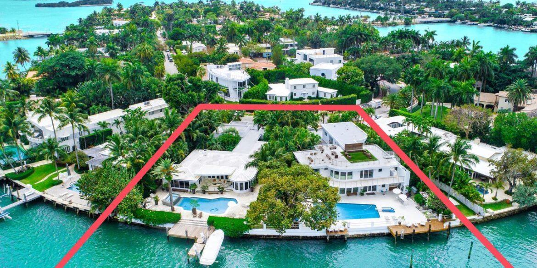 Экс-директор компании «Форд» продал дом в Майами за 18 млн долларов