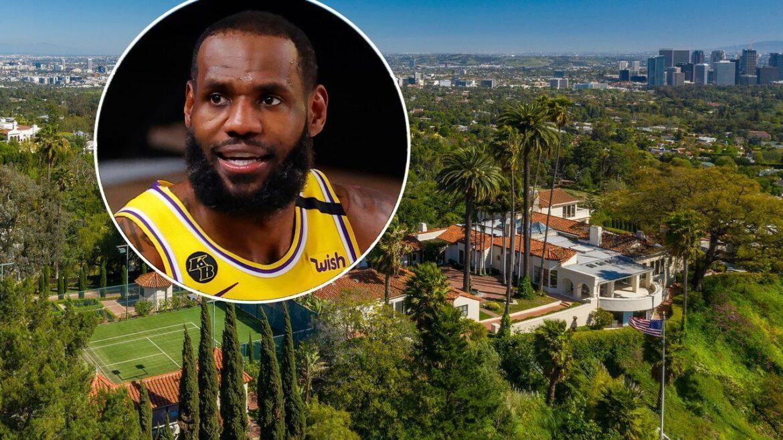 Звезда НБА Леброн Джеймс купил особняк в Беверли-Хиллз за 36,75 млн долларов