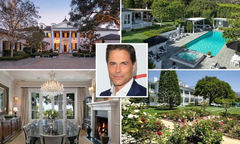 Роб Лоу продал дом в Монтесито за 45,5 миллиона долларов